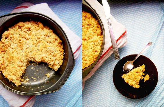 Apple crumble. Every Virginia family has a variation of this recipe in their larders.