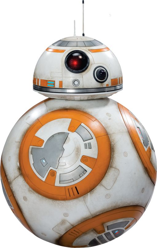 BB 8 Star Wars Ep7 The Force Awakens Characters Cut Out with