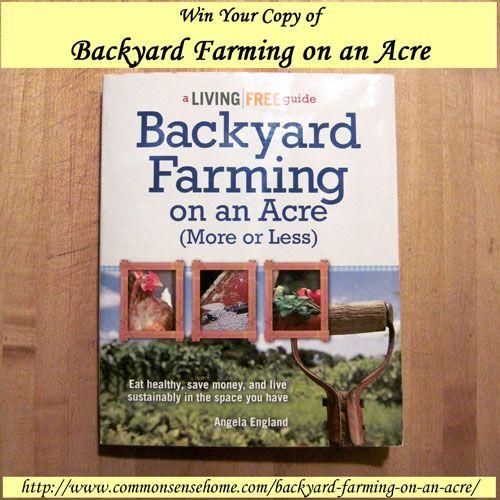Backyard Farming Guide : Backyard farming, Acre and Backyards on Pinterest