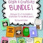 I have taken 11 of my seasonal glyphs and craftivities and bundled them into one pack! Each glyph/craftivity is $1 each {for a total of $11 when purchased individually}, but with this pack, you are saving $2.50- a savings of more than 20%!