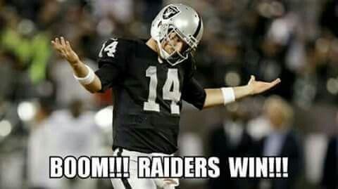 Raiders Win Sept 11, 2016