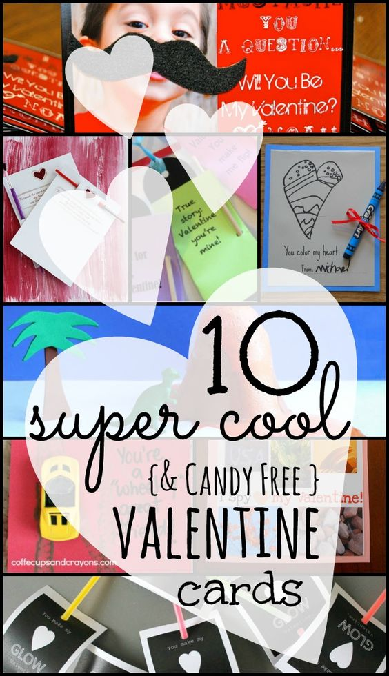 Valentine Card Ideas We Love {super cool and candy free!}