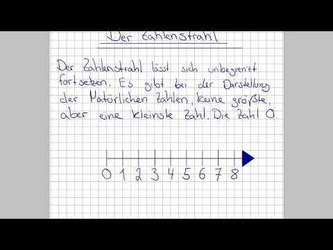 Mathe Der Zahlenstrahl Mathe Grundniveau Mathe Nachhilfe Online Naturliche Zahlen Youtube Zahlenstrahl Dezimalzahlen Mathe
