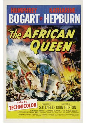 """The African Queen"" playing at Regent Square Theater on Sunday, November 13, 2011 at 8:00 p.m."