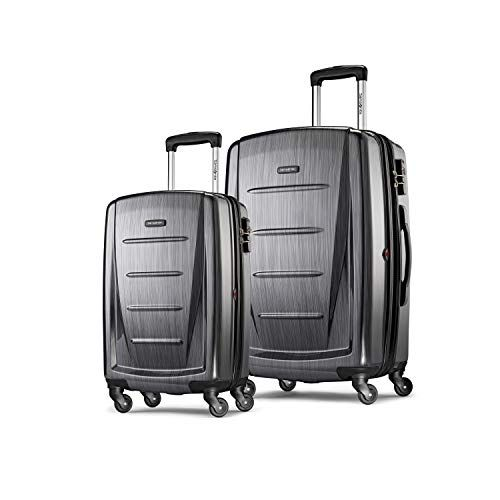 50 Off Only 139 99 Samsonite Winfield 2 Expandable Hardside 2 Piece Luggage Set 20 28 With Spinner Black Friday Luggage Samsonite Luggage Luggage Reviews