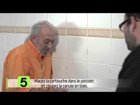 Enlever Et Refaire Les Joints En Silicone Youtube Enlever Joint Silicone Joint De Carrelage Joint De Douche
