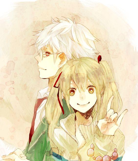 Ships, Ship it and Manga on Pinterest Nabari No Ou Raimei And Kouichi