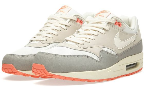 "promo code acdfe 3bc78 ... Available Nike Air Max 1 Essential ""Mortar"" Street Sneakers Pinterest Nike  air max, ..."