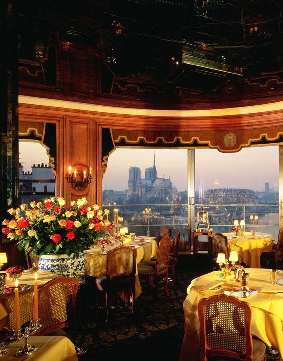 LA TOUR D'ARGENT • Paris, FRANCE • Legendary. One of the ultimate romantic dining experiences, this charming restaurant overlooks the Seine and Notre Dame. • 33 (1) 43 54 23 31 • www.latourdargent.com/