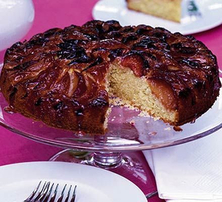 Glazed plum cake recipe ovens french and the o 39 jays for Blackberry and apple jam recipe bbc