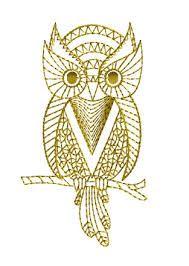 Bildergebnis für Owl Embroidery Pattern