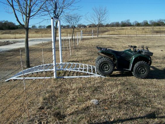 Farm and Ranch Entrances | Wheeler-Gator Gate Never get off to open the gate again! Cool!!