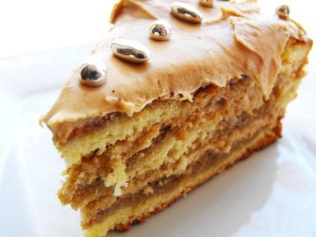 recette de cuisine gâteau Moka viennois au café