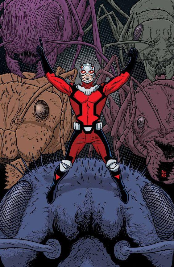"""Astonishing Ant-Man 1"" first look"