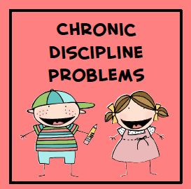 Tips to use with your chronic discipline problems