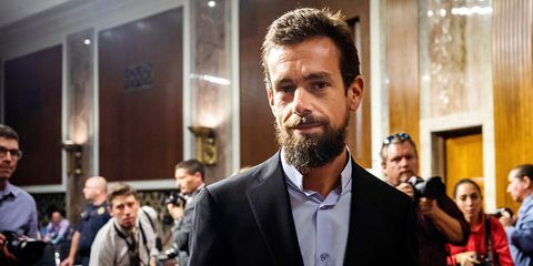Is Jack Dorsey Wearing A Popped Shirt Collar At Twitter Senate Hearing Clothing Footwear Lifestyle Products Pop Pop Shirts Latest Fashion Shirt Collar