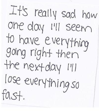Very Depressed Over School!! Help!?
