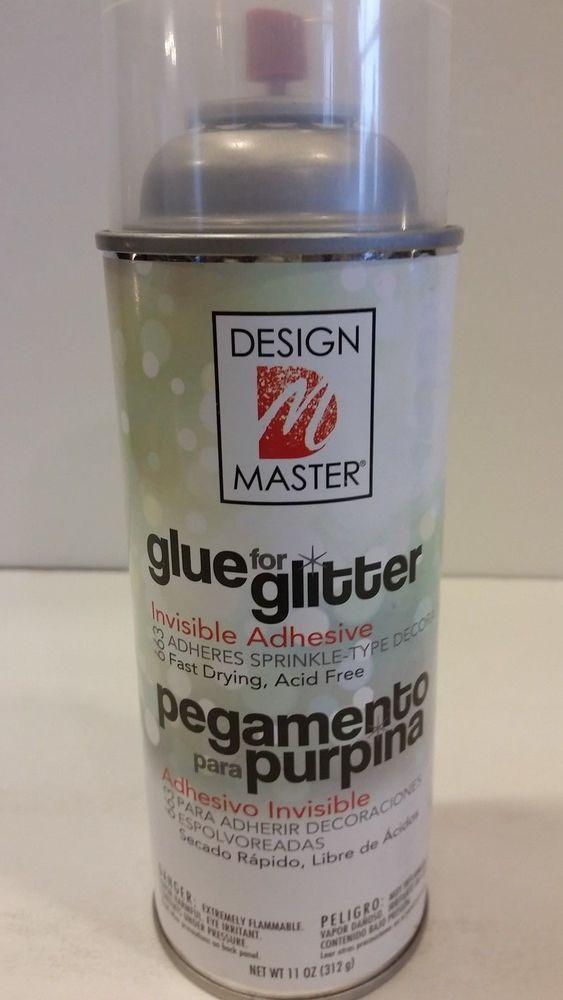 Spray Glue For Glitter : spray, glitter, Design, Master, Glitter, Invisible, Adhesive, Spray, Crafts, Master,, Adhesive,