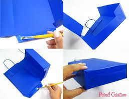 Resultado de imagem para sacola de papel como fazer