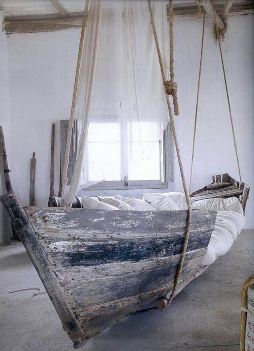 Boat bed/swing/hammock