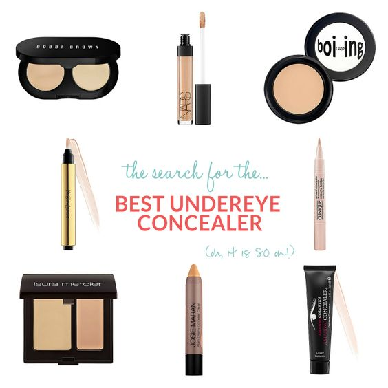 the search for the best undereye concealer