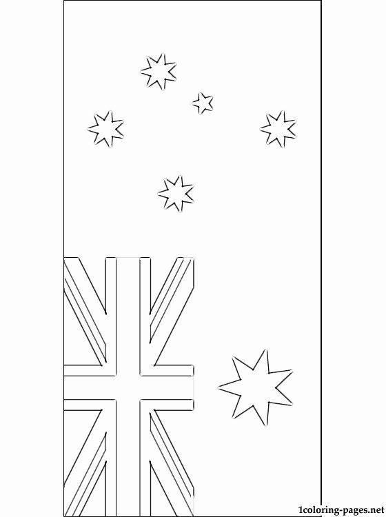 Australia Flag Coloring Page Favourite Australian Flag Coloring Page Flag Coloring Pages Star Coloring Pages Birthday Coloring Pages