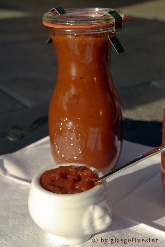 pfirsich ketchup