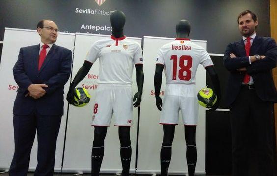 Ceci est le nouveau Maillot de foot Seville Domicile pour la saison 2016/2017;: