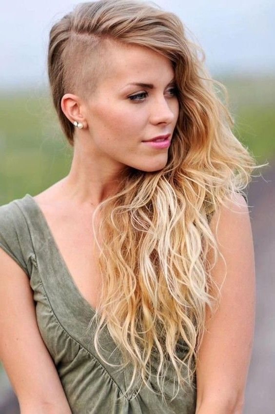 33 Amazing Side Shaved Hairstyles For Women Long Hair Styles Shaved Long Hair Hair Styles