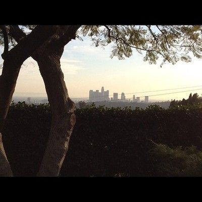 Los Angeles View from Echo Park LA CA #liosangeles  (Taken with Instagram)