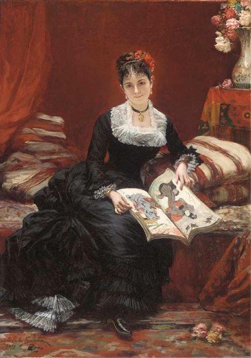 Jules Emile Saintin (1829-1894)