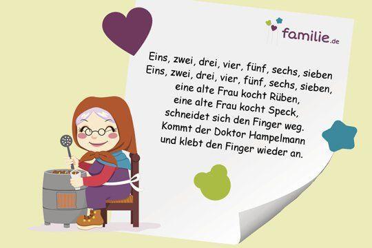Kinderreime Reime Fur Kinder Familie De Kinder Reime Kinderreime Gedichte Fur Kinder