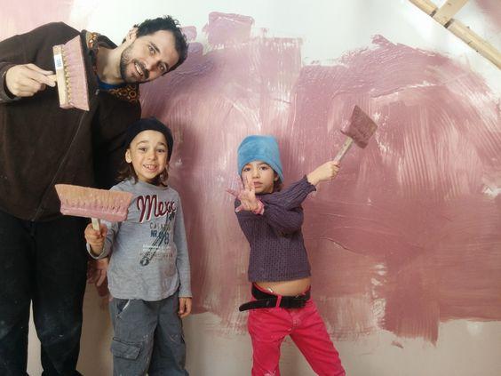 Faire sa peinture naturelle à la chaux!