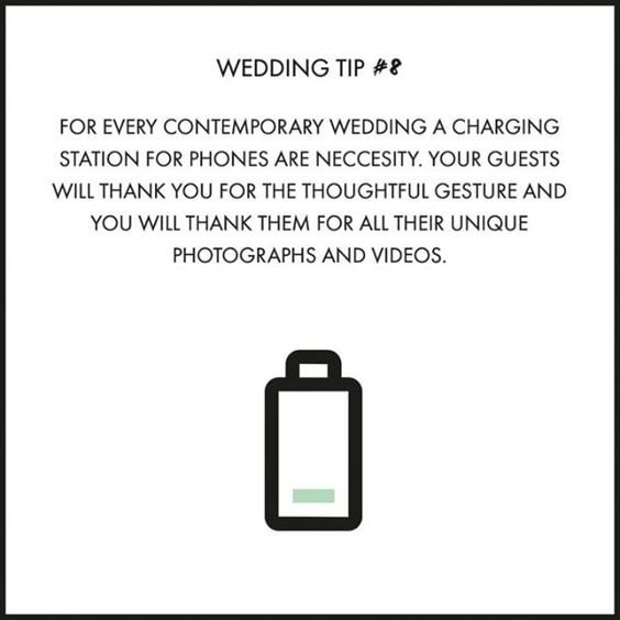 Today's wedding tip is more appreciated than you might think... 😉📱🔌  For every contemporary wedding a charging station for phones are neccesity. Your guests will thank you for your thoughtful gesture and you will thank them for all their unique photgraphs and videos.  wedding inspiration, wedding, weddings, wedding tips, inspiration, DIY, charging station