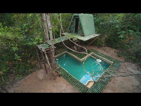 Build Green Tree House Master And Paradise Bamboo Underground