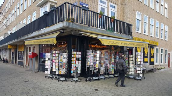 A livraria onde o pai Otto comprou o diário para a filha... Anne Frank, em Amesterdão | Viaje Comigo