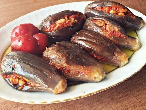 طريقة عمل المكدوس السوري Youtube Cooking Recipes Lebanese Recipes Cooking