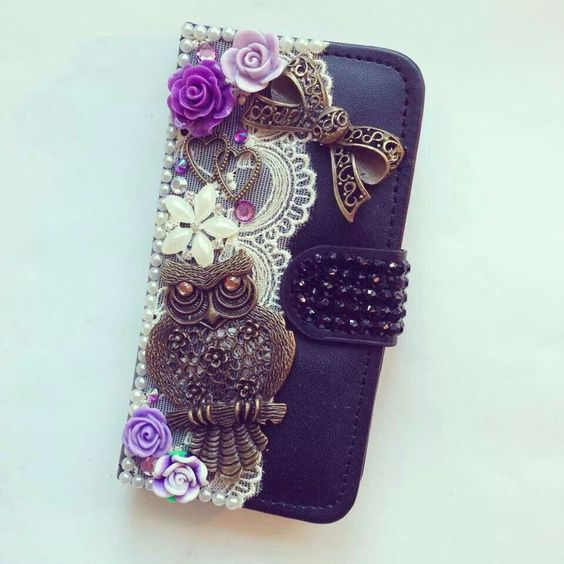 Alexis Vintage Phone cases on Facebook...beautiful handmade Vintage themed phone cases and makeup mirrors