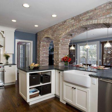 Brick Kitchen Design