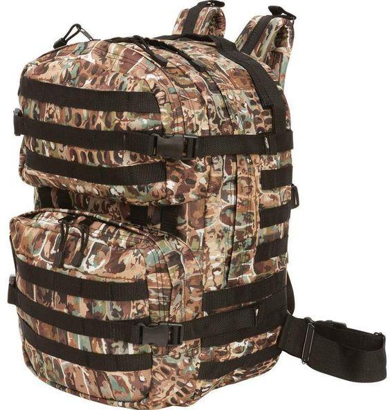 meyerco(R) bullgator(R) camo molle backpack