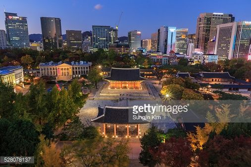 Deoksugung Palace at night (Photo by Sungjin Kim) | #Palace #nightscape #Seoul #korea #travel