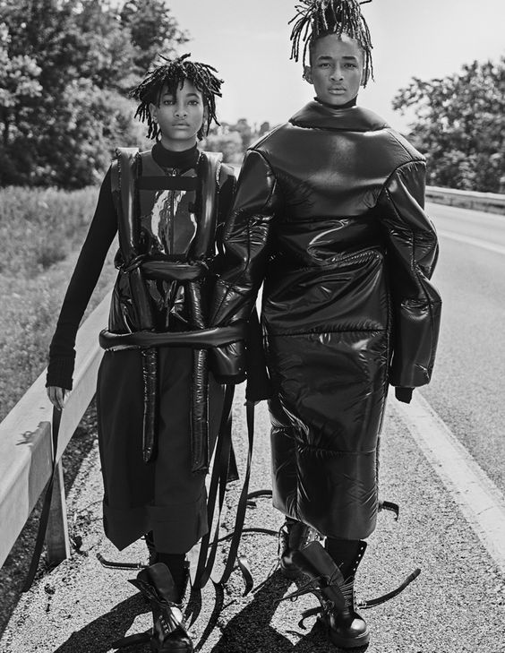 Willow & Jaden Smith by Steven Klein for Interview Magazine, September 2016