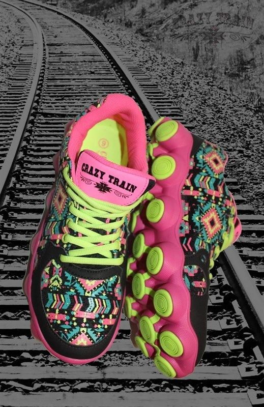 crazy train sneakers