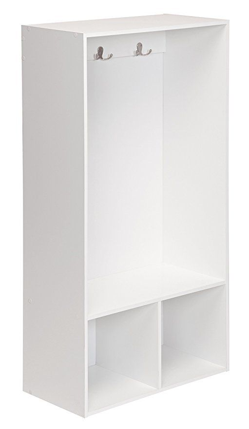 Closetmaid 1598 Kidspace Open Storage Locker 47 Inch Height White With Images Locker Storage Bedroom Organization Storage Kids Bedroom Storage