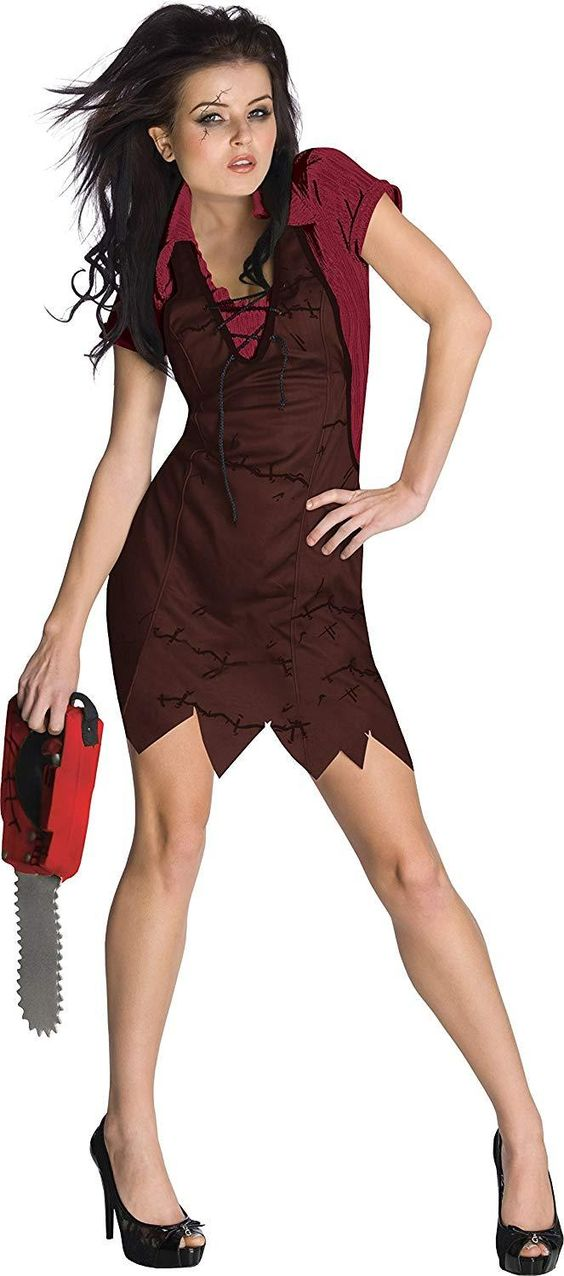 Secret Wishes Womens Miss Leatherface The Texas Chainsaw Massacre Costume