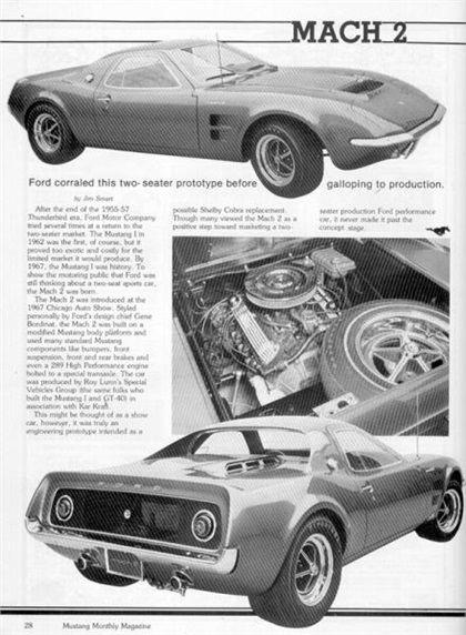 Ford Mach 2, 1967