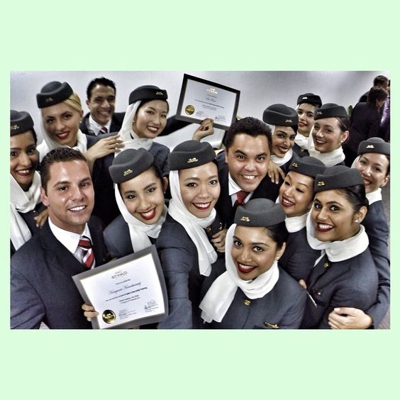 Sooooo sooo so much fun. We r graduated batch 600!! ✈️ #graduate #etihadcrew #trainee #friend