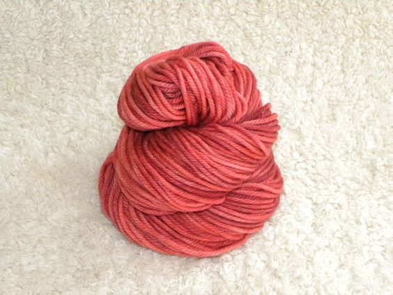 Country Club--Hand Dyed yarn Bulky Weight 100 Superwash by mustardseedyarnlab, $15.00