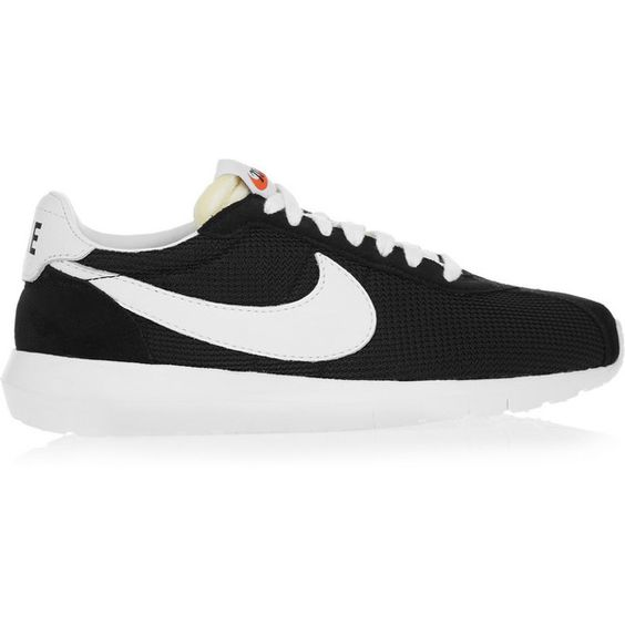 Nike Roshe LD-1000 faux suede and mesh sneakers, Women's, Size: 8 (£80) ❤ liked on Polyvore featuring shoes, sneakers, mesh shoes, mesh sneakers, nike trainers, nike footwear и nike shoes