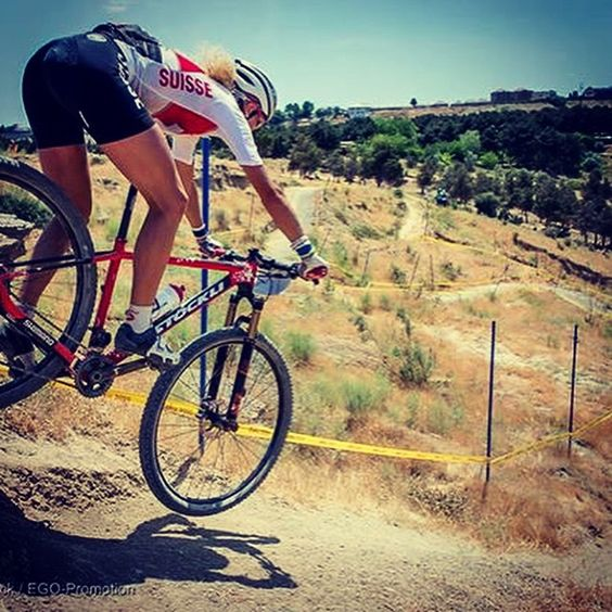 Jolanda Neff is going for Gold! Congrats #swissteam #baku2015 #sponsoryourself #mtb #sufferincomfort @jolandaneff @assosmangayio credits Swiss Cycling